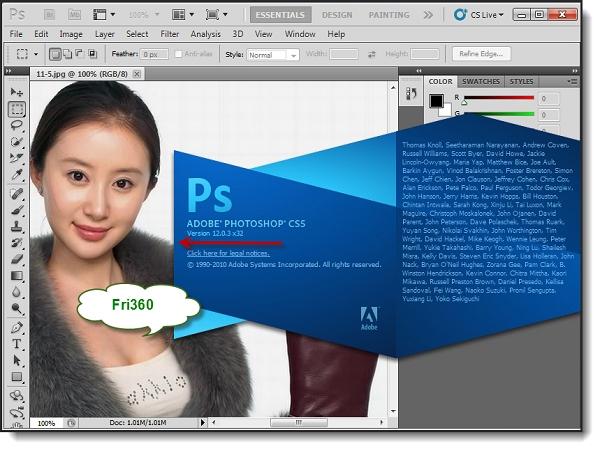 Photoshop Cs5: Khôi phục chi tiết từ vùng tối của ảnh 1
