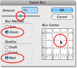 Photoshop Cs5: Tạo hiệu ứng phóng to 7