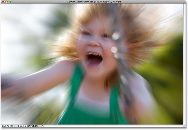 Photoshop Cs5: Tạo hiệu ứng phóng to 8