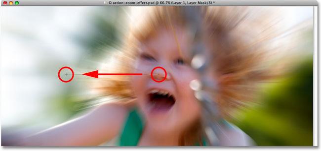Photoshop Cs5: Tạo hiệu ứng phóng to 14