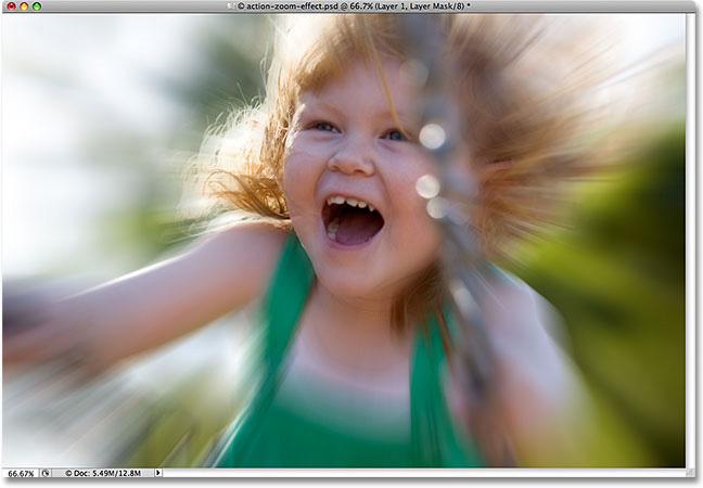 Photoshop Cs5: Tạo hiệu ứng phóng to 15