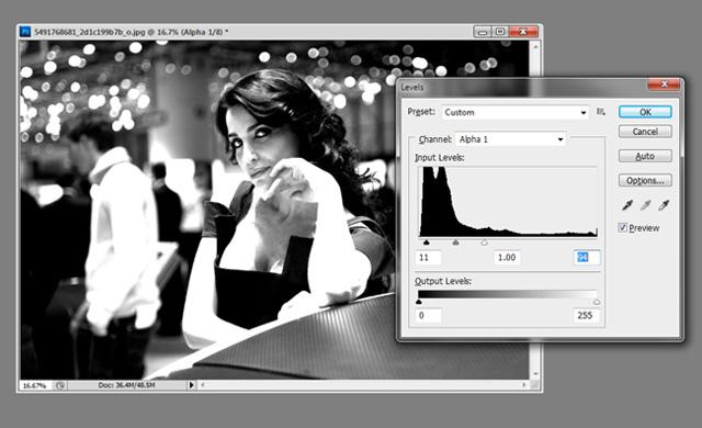 Photoshop Cs5: Khôi phục chi tiết từ vùng tối của ảnh 7