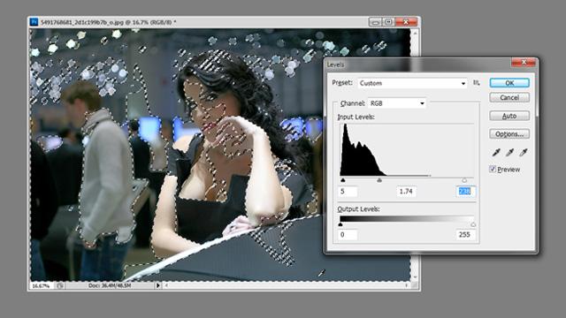 Photoshop Cs5: Khôi phục chi tiết từ vùng tối của ảnh 10