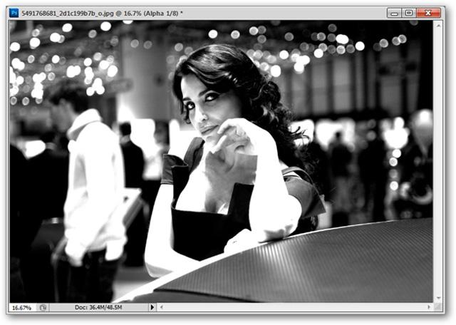 Photoshop Cs5: Khôi phục chi tiết từ vùng tối của ảnh 12
