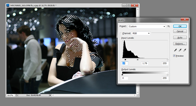 Photoshop Cs5: Khôi phục chi tiết từ vùng tối của ảnh 15