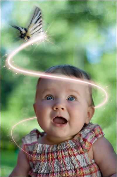 Photoshop Cs5: Tạo hiệu ứng Light và Glow 16