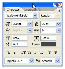 Photoshop Cs5: hiệu ứng chữ chất lỏng 3