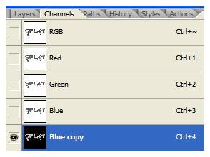 Photoshop Cs5: hiệu ứng chữ chất lỏng 7