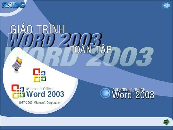 Word 2003: Mục lục 4