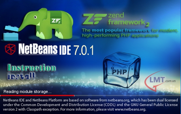 Cài đặt và cấu hình Zend Framework trên Netbeans 7.0.1 1