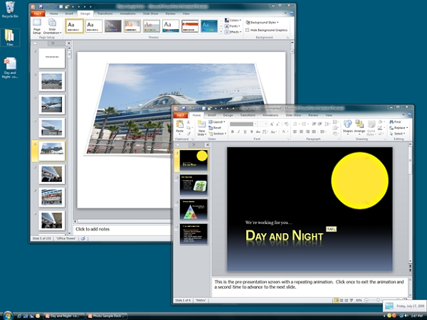 PowerPoint 2010: Điểm mới 1