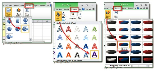 Hướng dẫn tạo biểu đồ trong Office Excel 2007- 2010