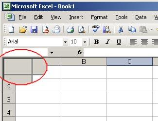 List  Thao tác trên bảng tính Excel 2003