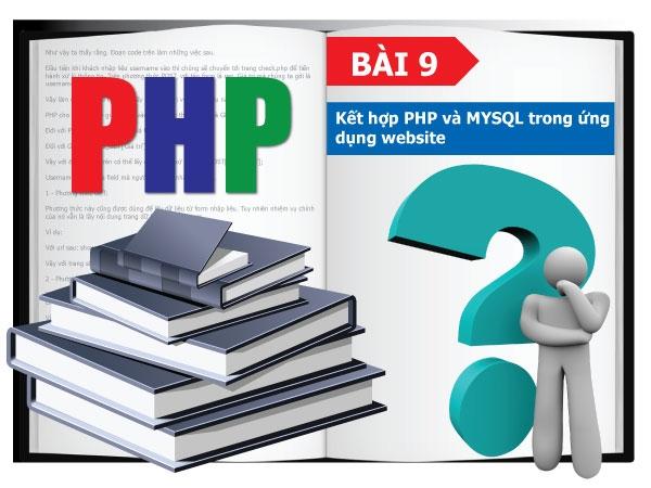 Kết hợp PHP và MYSQL trong ứng dụng website