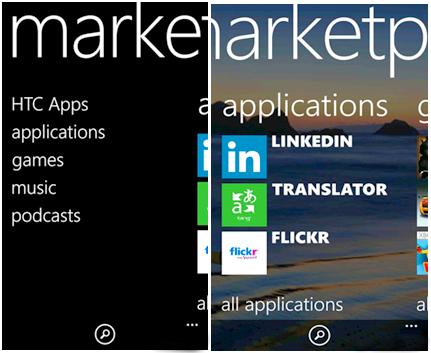 Các phần mềm cơ bản của Windows Phone