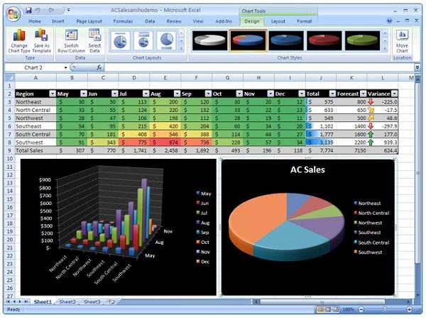 Excel 2007: Cách nhập công thức 7