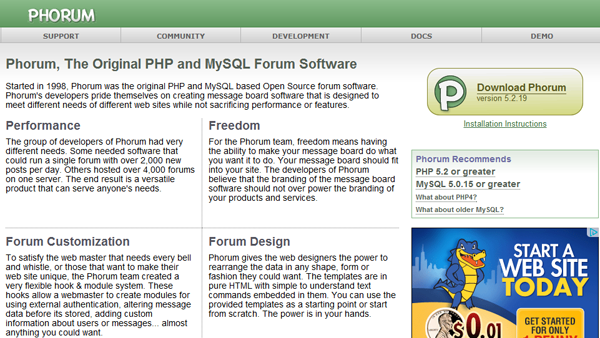12 Forum Open Source PHP miễn phí 10