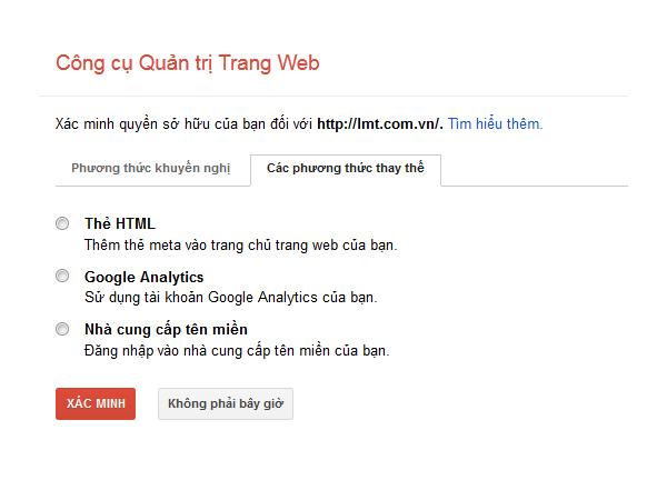 google webmasters phuong thuc khac