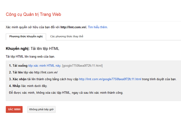 google webmasters phuong thuc khuyen nghi