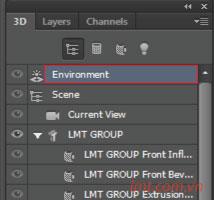 Hiệu ứng 3d trong Photoshop CS6 6