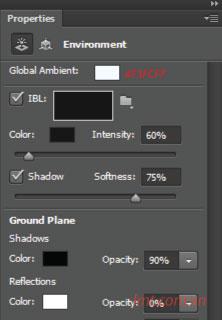 Hiệu ứng 3d trong Photoshop CS6 7