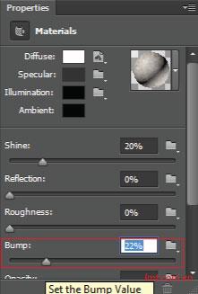 Hiệu ứng 3d trong Photoshop CS6 18