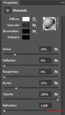 Hiệu ứng 3d trong Photoshop CS6 19
