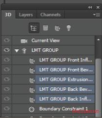 Hiệu ứng 3d trong Photoshop CS6 20