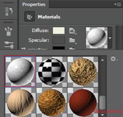 Hiệu ứng 3d trong Photoshop CS6 21