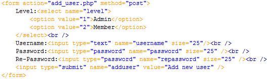 PHP cơ bản - Bài 11: Viết ứng dụng thêm thành viên bằng PHP và MYSQL 3