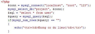 PHP cơ bản - Bài 12: Viết ứng dụng quản lý thành viên bằng PHP và MYSQL 3