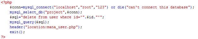 PHP cơ bản - Bài 13: Viết ứng dụng sửa xóa thành viên bằng PHP và MYSQL 7