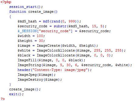 PHP cơ bản - Bài 14: Viết ứng dụng tạo mã xác nhận bằng PHP 6
