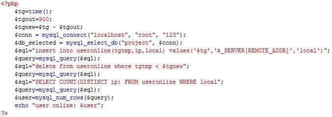 PHP cơ bản - Bài 15: Viết ứng dụng đếm số người online bằng php 7