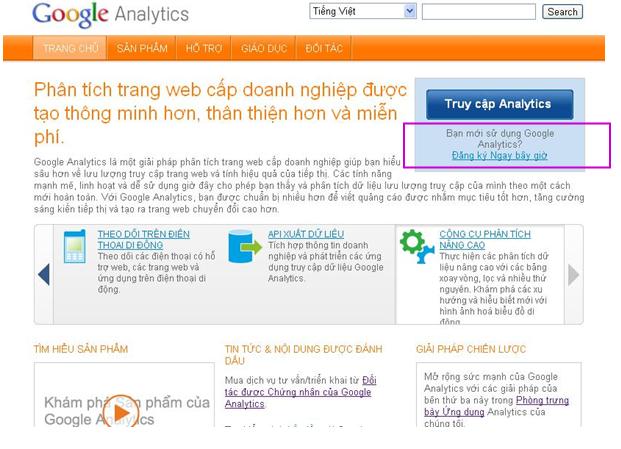 Hướng dẫn cài đặt google analytics 2