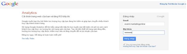 Hướng dẫn cài đặt google analytics 3