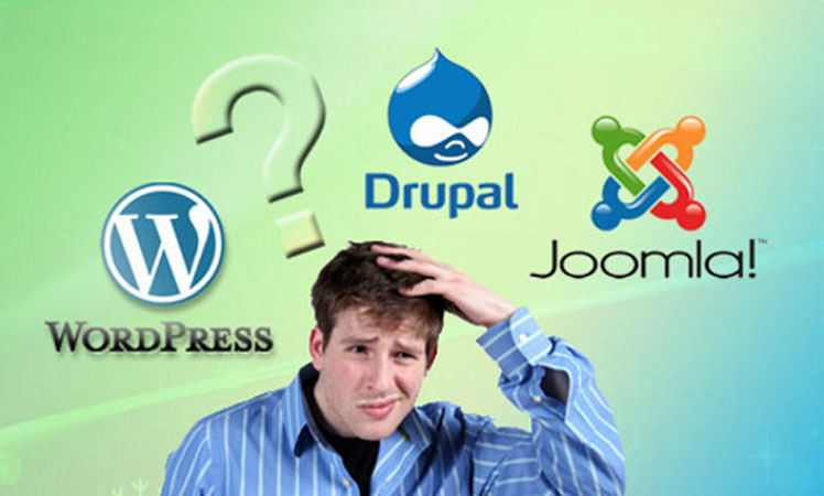 Joomla - WordPress - Drupal