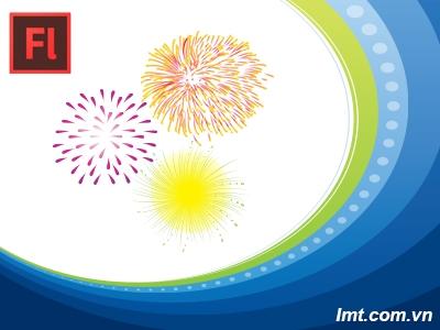 Làm Hiệu Ứng Pháo Hoa - Adobe Flash CS6 2