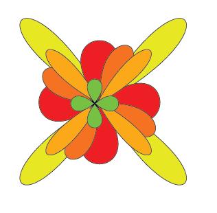 Vẽ hoa - Illustrator Cs6