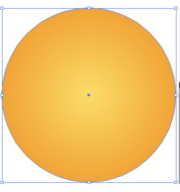 Tạo mặt trời bằng Illustrator Cs6
