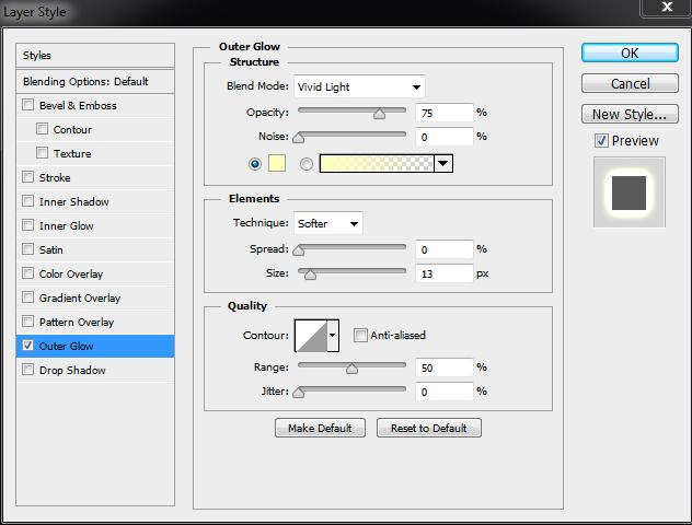 Thiết kế chữ với hiệu ứng bóng đèn tròn Photoshop Cs6