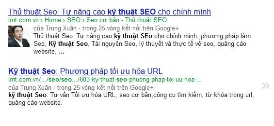 Phân tích truy vấn hiển thị trên Google