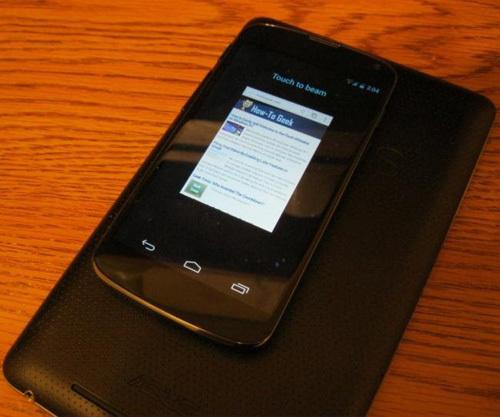 Thủ thuật Android, chia sẻ dữ liệu giữa hai thiết bị Android