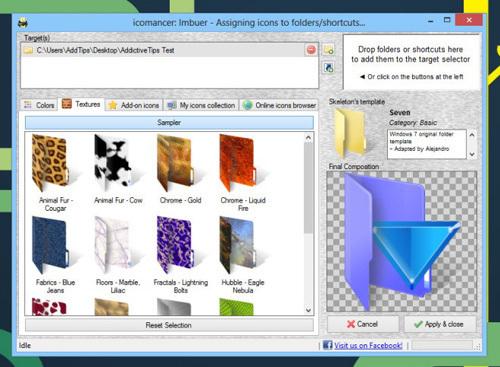 ứng dụng Windows, cách tạo biểu tượng thư mục đặc biệt trong Windows