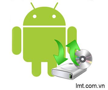 Thủ thuật Android, Chuyển dữ liệu từ máy Android sang Iphone