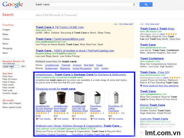 Thuật toán google, tiện ích google