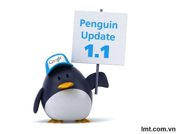 Update google 2012: Update Penguin 1.1 5
