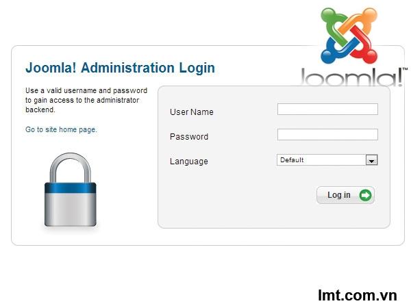 Thay đổi đường dẫn đăng nhập vào trang quản trị CMS Joomla 1