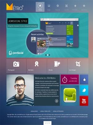 JSN Metro - thiết kế website: tin tức 6