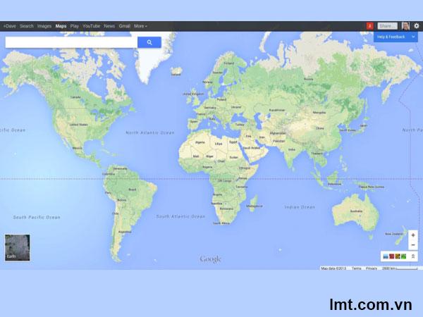 Phiên bản Google Maps mới